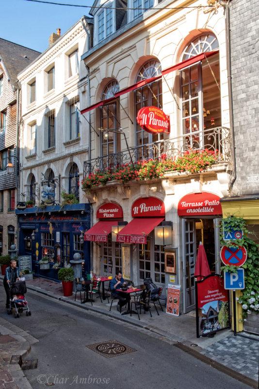 A Side Street in Honfleur