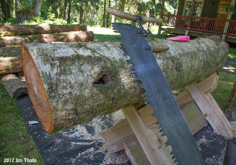 About 4 Cut off bucking saw