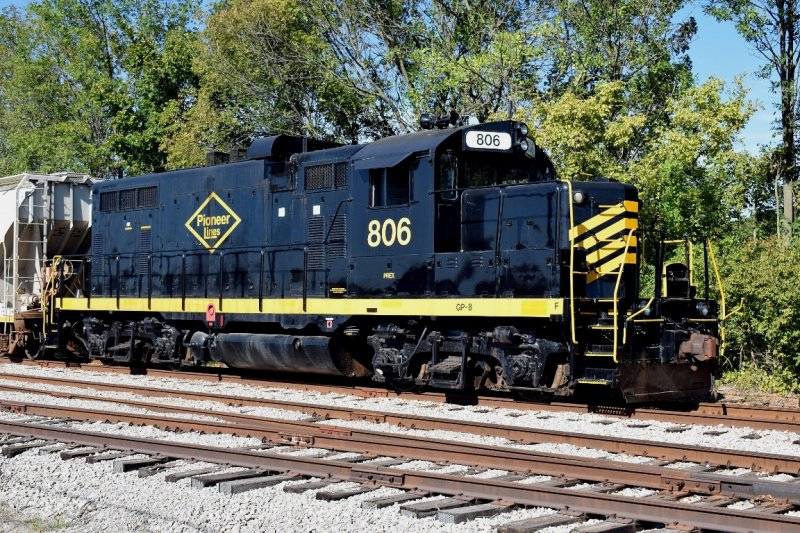 026 - Thursday afternoon - Sept 28 - Pioneer Railway & Mid-America Locomotive
