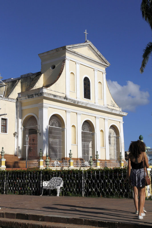 Another church, Sanatisima, with neo classical architecture