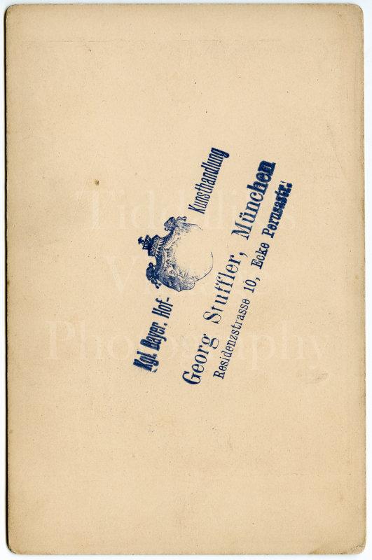 Cabinet Card Photo