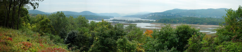 Pano View from Boscobel Restoration, Garrison, NY - 2002