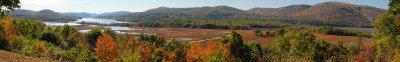 Pano View from Boscobel Restoration, Garrison, NY - 2007