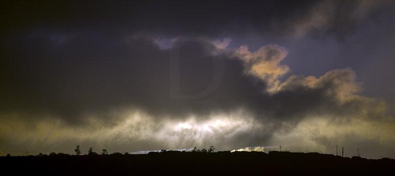 O Nascer do Sol Sobre a Serra de Aire