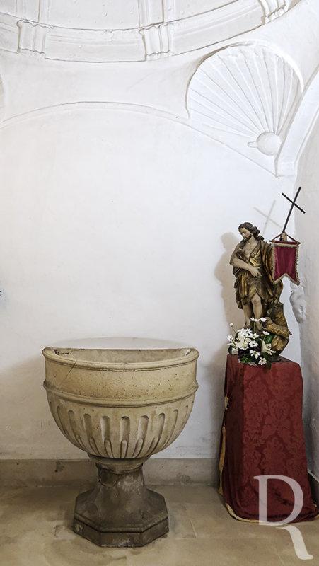 Pia Batismal da Igreja de São Pedro