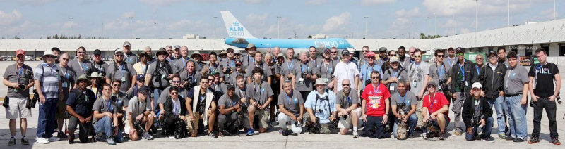 The 25th Annual MIA Ramp Tour, held in conjunction with the Florida Aviation Photography (FLAP) convention now held in February