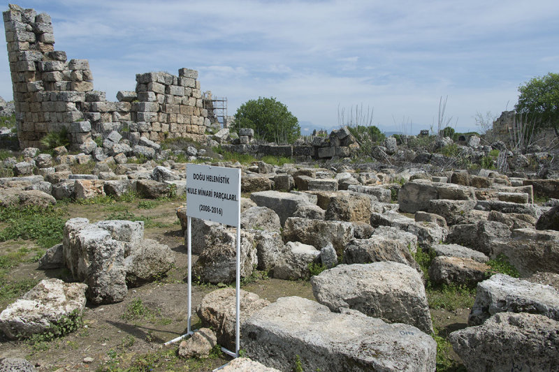 Perge Parts of East Hellenistic Tower march 2018 5936.jpg