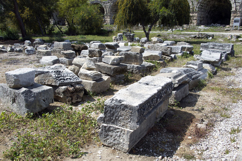 Perge Parts of the Roman Gate from 2017 march 2018 5898.jpg