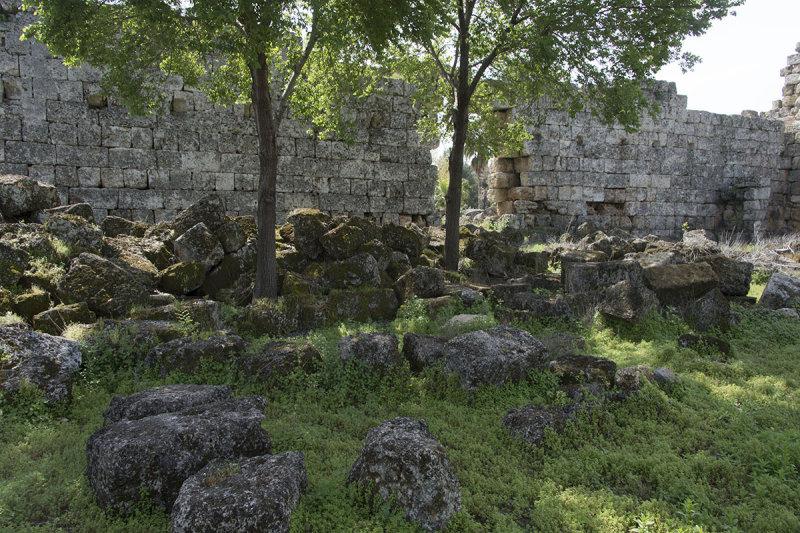 Perge Wall near Roman Gate march 2018 5925.jpg