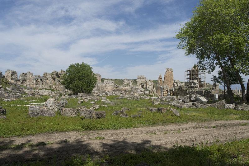 Perge Wall near Roman Gate march 2018 5931.jpg