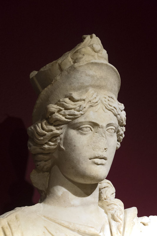 Antalya museum Statue of Tyche march 2018 5812.jpg