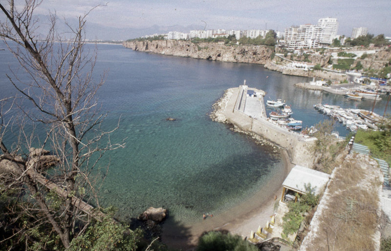 Antalya harbour view