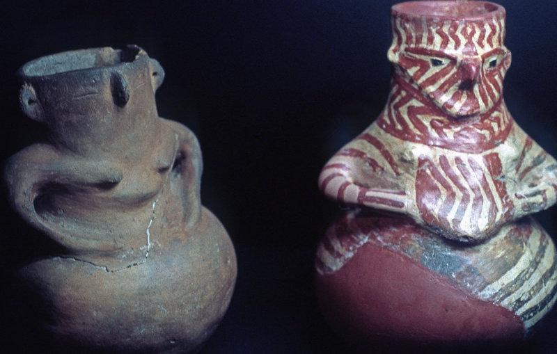 Anthropomorphic vases