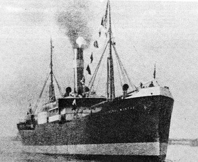 D/S GENERAL MUNTHE-Kolliderte med D/S TORVALD av Landskrona