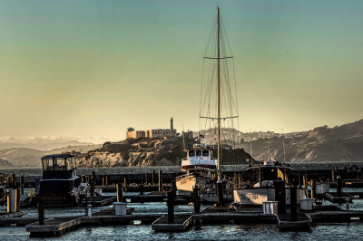 SF Harbor and San Quentin