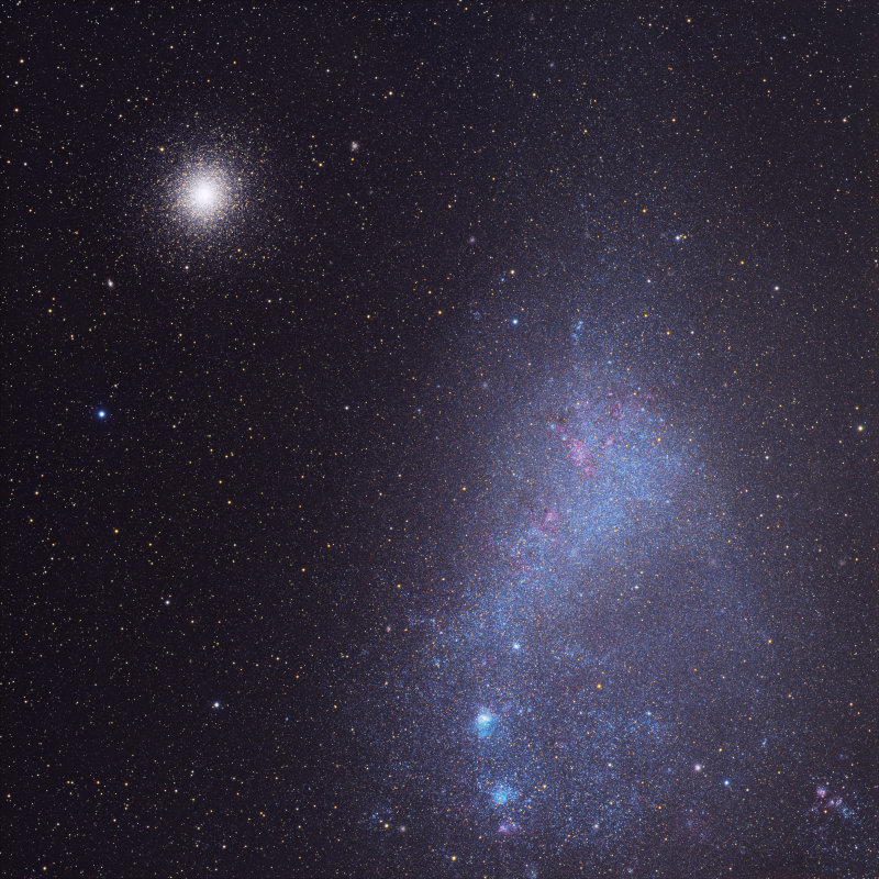 SMC and 47 Tucanae - First Light