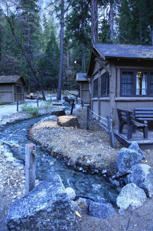 New Creek Running Thru Yosemite Village (_MG_6414.JPG)