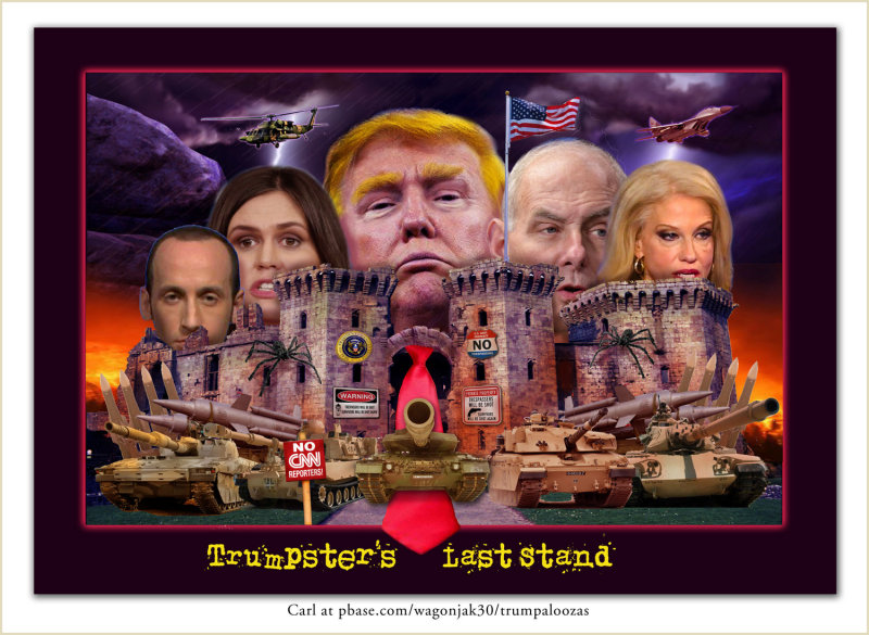Trumpsters Last Stand