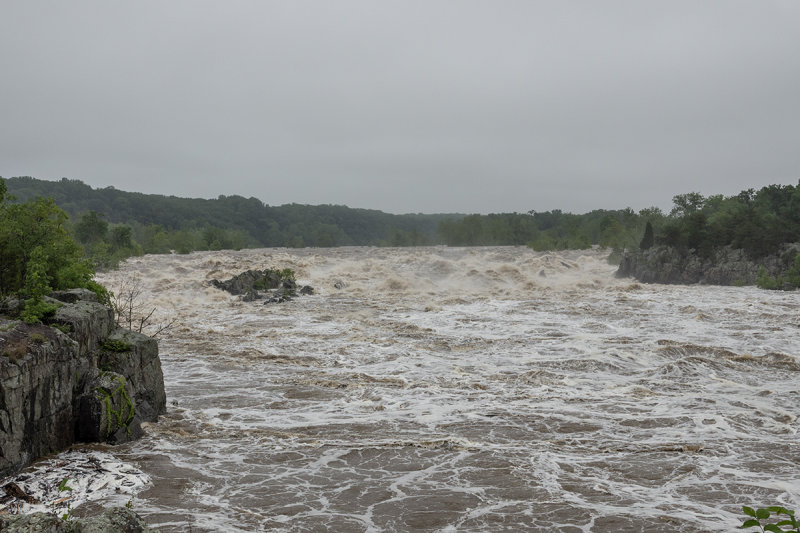 Flooding on the Potomac River