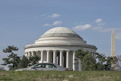 Sad state of the Jefferson Memorial