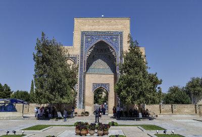 Gate, Gur-e-Amir, Samarkand