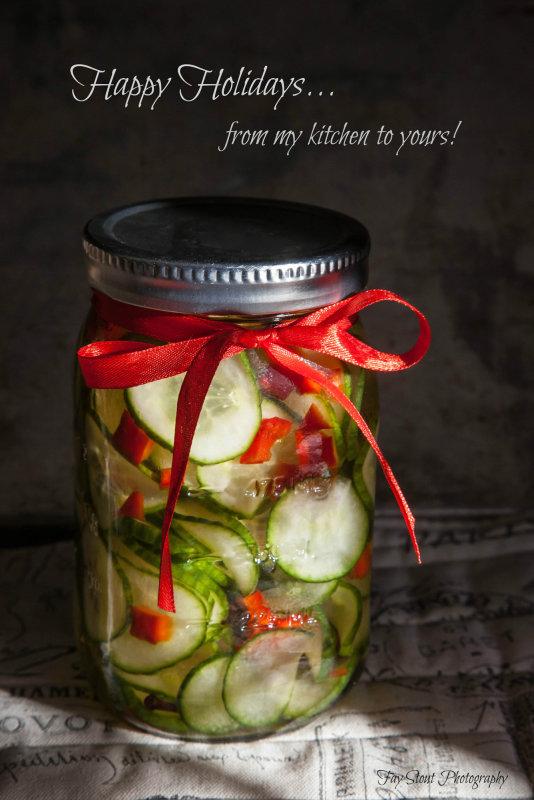 English Cucumber Pickles