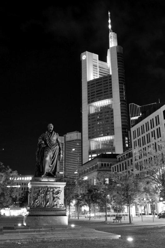 Frankfurt am Main. Goethe Monument