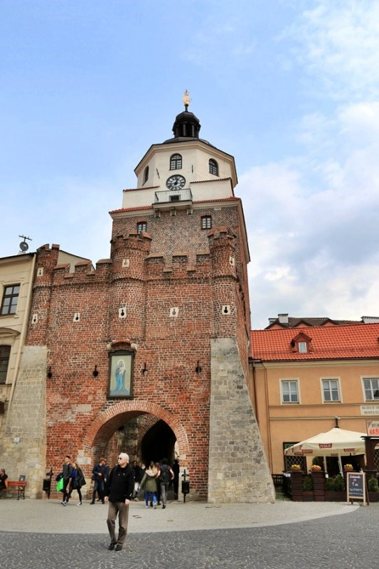 Lublin. Krakow Gate