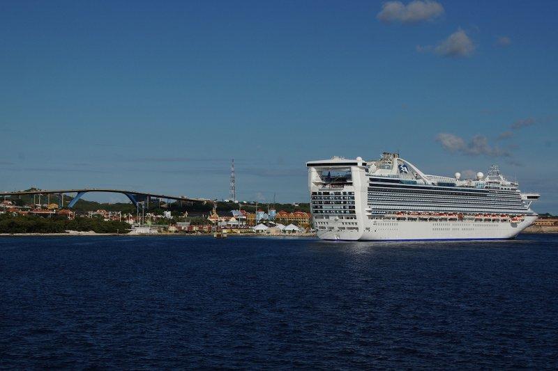 Caribbean Princess at Willemstad