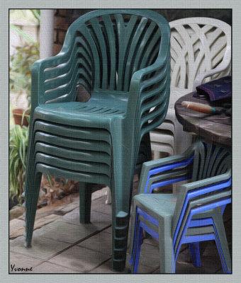 A Garden Seat or Bench