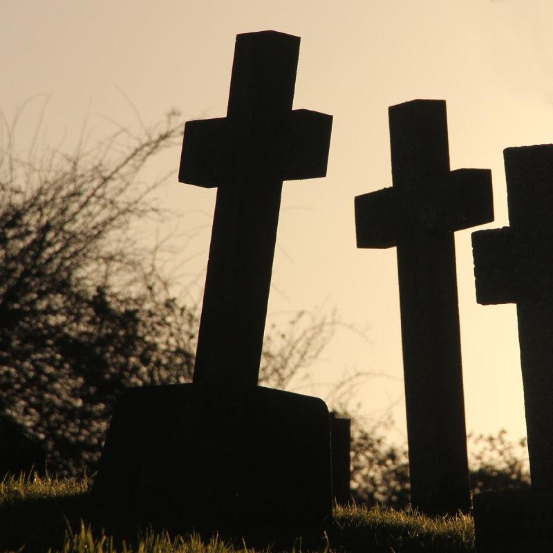 6:365<br> three sombre crosses