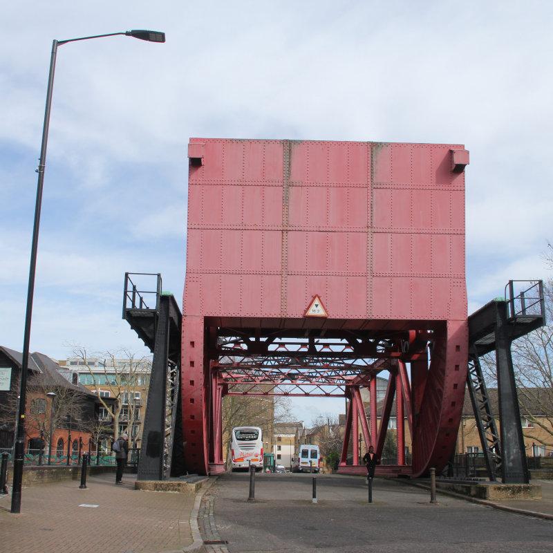 70:365<br>Red Bascule Bridge