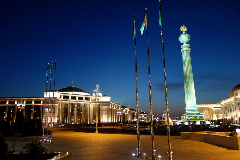 Monument to Independence of Turkmenistan