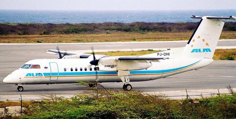 Antillean Airlines, ALM, De Havilland Canada, DHC-8-31