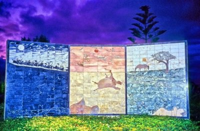 Alcacer Quibir Batle Triptych