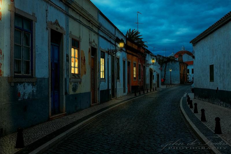 2018 - Rua do Albergue  - Faro, Algarve - Portugal