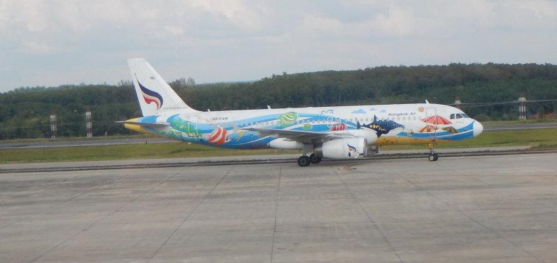 My plane, Bangkok Airways Airbus