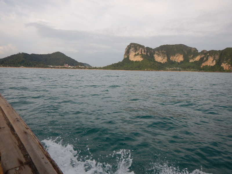 View towards Ao Nang