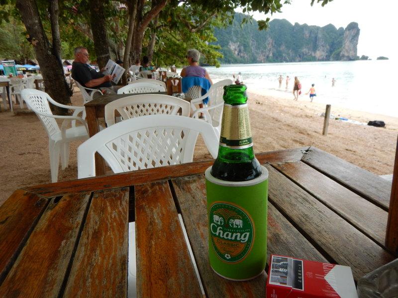 Cold Chang at the beach