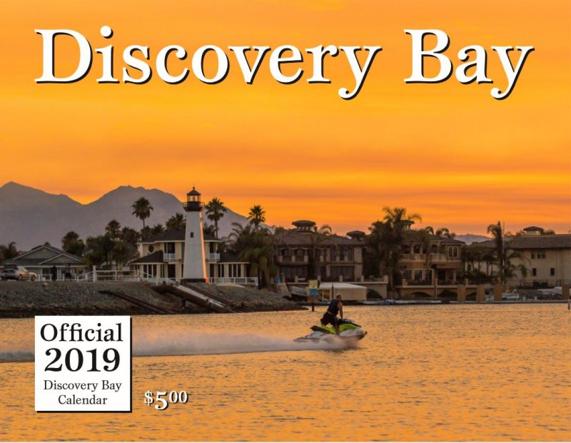 Town of Discovery Bay 2019 Calendar