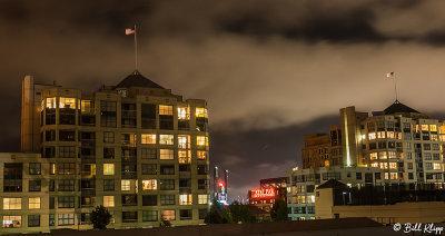 San Francisco ATT Park Night Scene