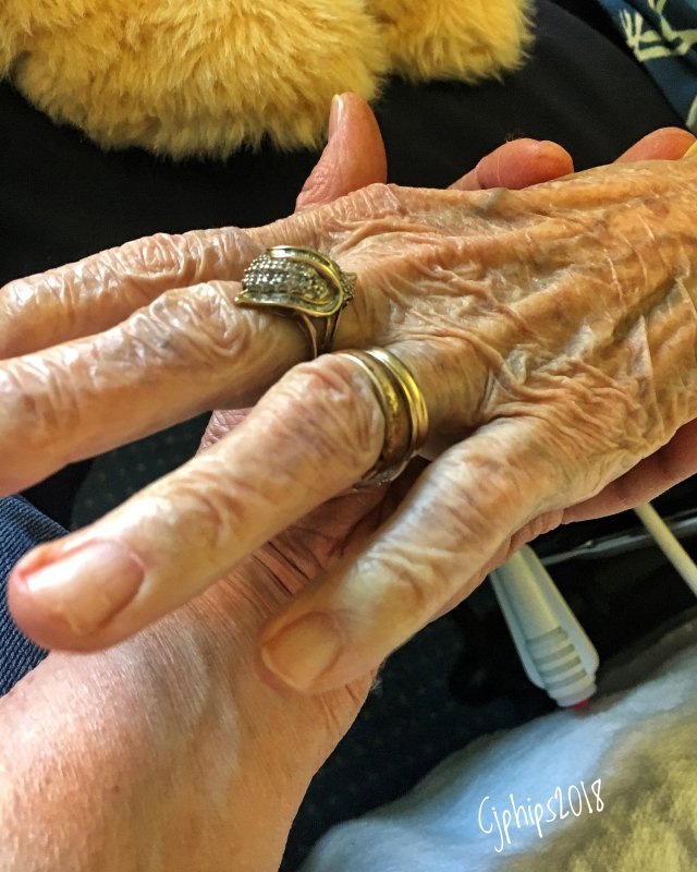 Oh the Stories in a 90 Year Old Hand