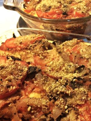 Eggplant-Squash Parmesan