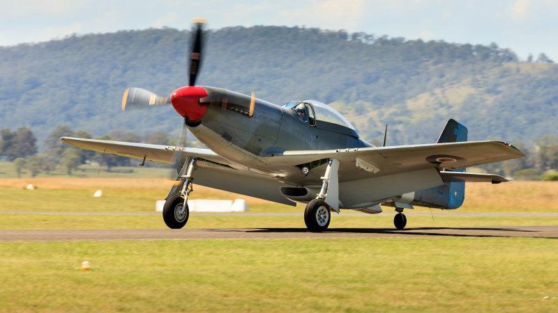 P51D or CAC CA-18 MK 21, Mustang
