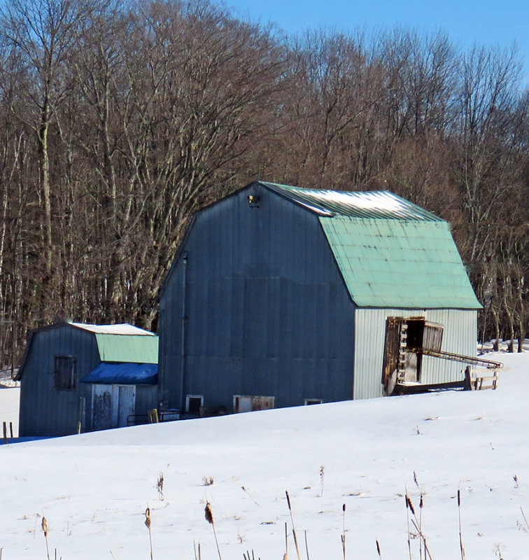 Barn on the outskirts of town