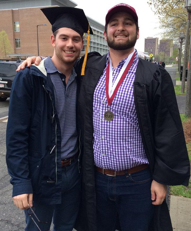 Doms Graduation and JonCarlo