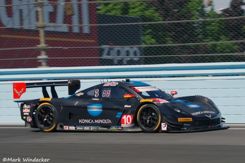 #10 Konica Minolta Corvette DP for Wayne Taylor Racing