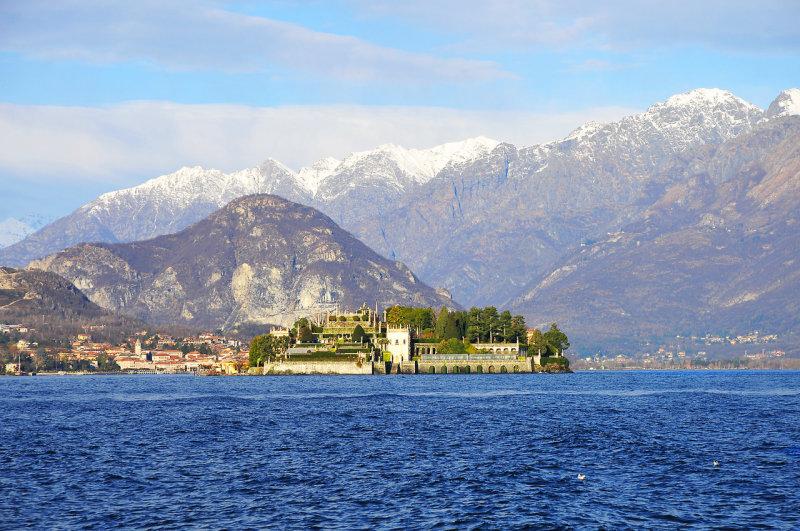 Isolla Bella on Lake Maggiore
