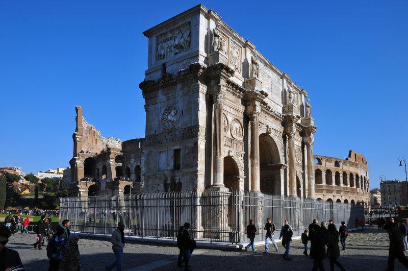 Triumph Arch of Emperor Constantine