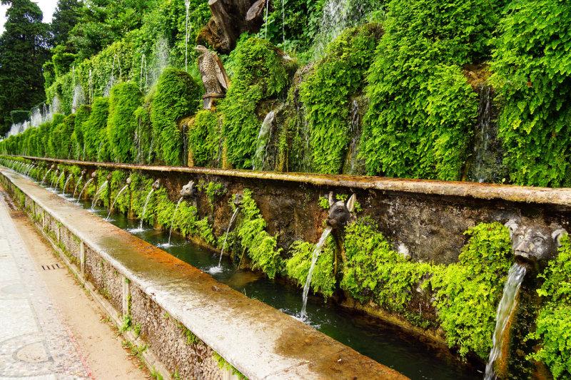 Fountains in Tivoli